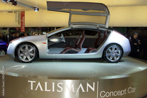 Renaults Concept Car Talisman Is Displayed During A Press Preview