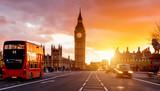 Fototapeta Londyn - London Westminster Bridge