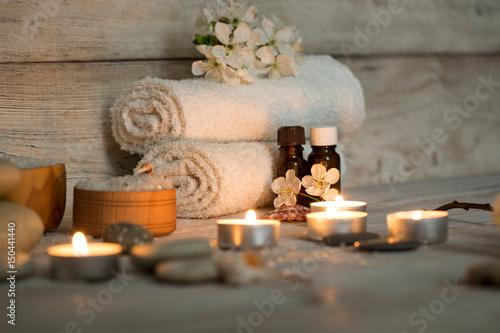 Foto op Plexiglas Spa Items for spa