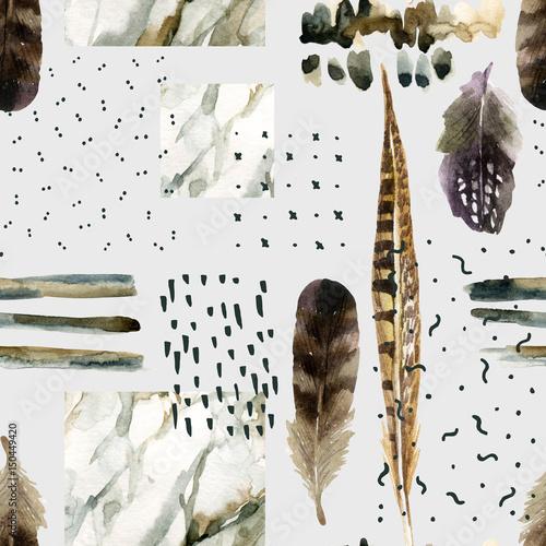 streszczenie-tlo-akwarela-z-gryzmoly-marmurkowaty-ziarnisty-grunge-tekstury-papieru