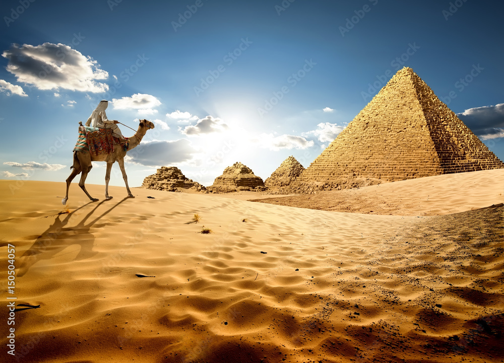 Fototapeta In sands of Egypt