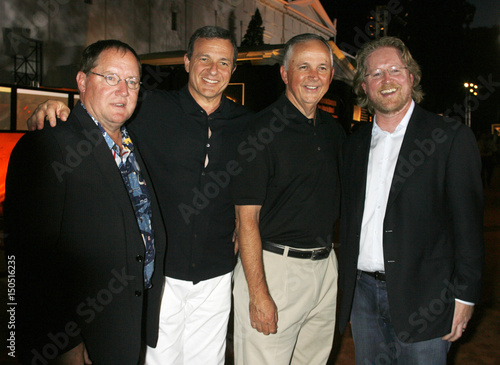 Disney executives at the world premiere of the animated film