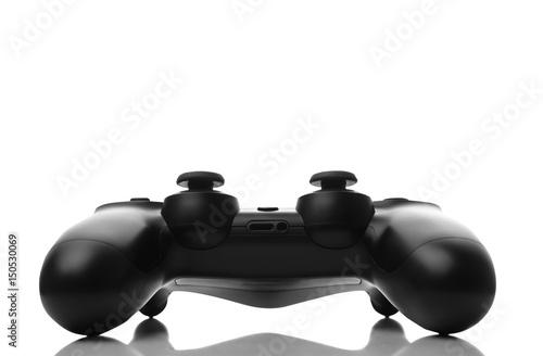 Plakat Gamepad odizolowywający na bielu
