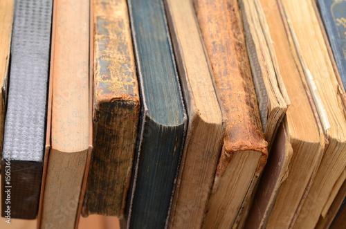 Fototapeta Bücherstapel obraz na płótnie