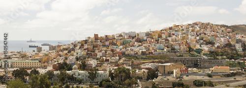 Vista panorámica de la ciudad de Las Palmas de Gran Canaria, Islas Canarias, España