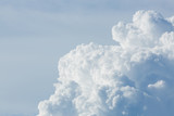 chmura nad pochmurnego nieba tle - 150548466