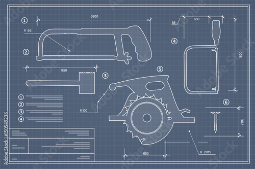 Blueprint building tool set drawing plan layout of industrial and blueprint building tool set drawing plan layout of industrial and home instrument for construction and malvernweather Gallery