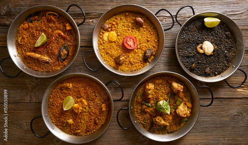 Paellas five rice recipes from Spain