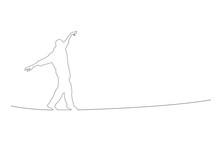 Equilibrist, Vector Background...