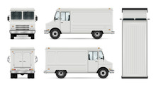 Food Truck Vector Template For...