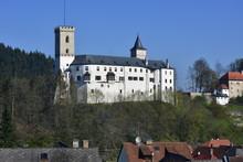 Castle Rozmberk In Czech Republic