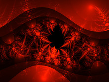 Abstract Fractal Thorny Shape, Digital Artwork For Creative Graphic Design