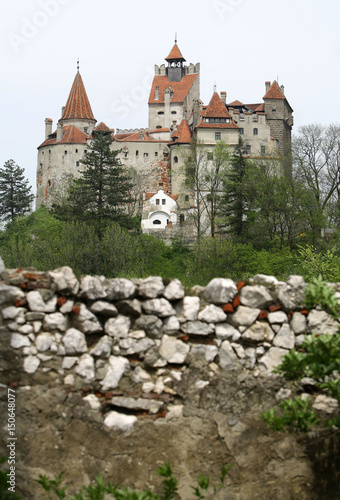 File photo shows general view of Bran Castle, also known as