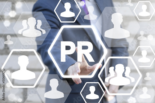 Photo PR (Public relations) News Conference Marketing Communication People Social Media Interview Business Web Concept