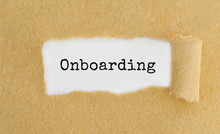 Text ONBOARDING Appearing Behi...