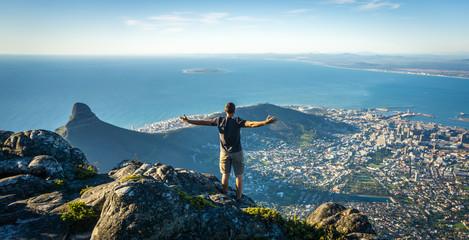 Stolna planina, Cape Town Nevjerojatan pogled