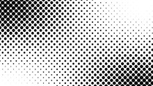 Abstract Halftone Pattern Text...