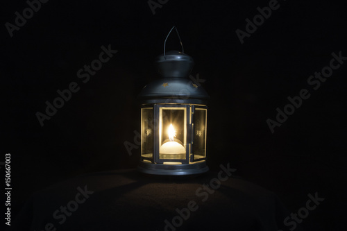 Photo Blue lantern