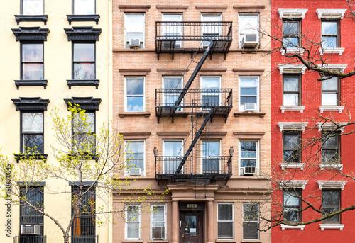 Foto auf Gartenposter New York City New York City Historic Style Buildings in Manhattan