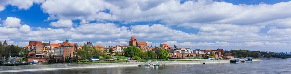 Fototapeta Torun city, Poland