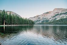 Tenaya Lake, Sunset