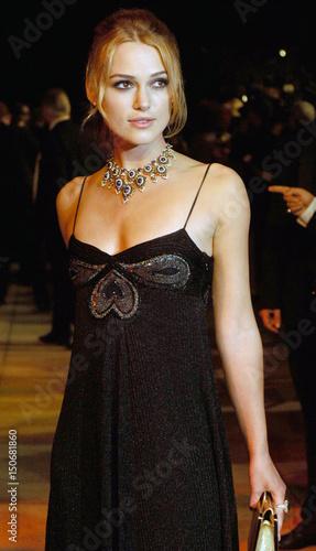 Keira Knightley arrives at Vanity Fair Oscar Party in West