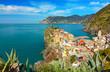 view of Vernazza - cinque terre, Liguria - Italy