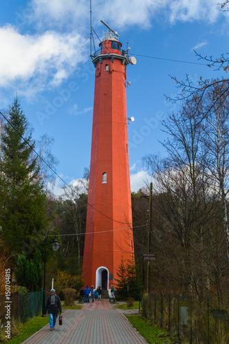 Foto op Aluminium Vuurtoren Lighthouse - Hel, Poland