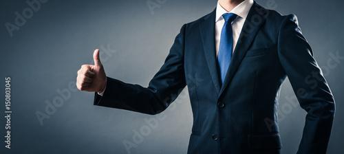 Photo グーサインをするビジネスマン
