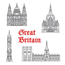 Architecture Great Britain Vec...