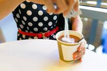 Hand Pouring Unhealthy Non Dai...