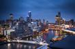 canvas print picture - Melbourne City