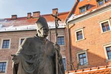 Statue Of Pope John Paul II. W...