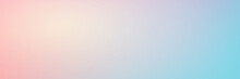 Smooth Gradient Background With Pastel Pink And Turquoise Colors