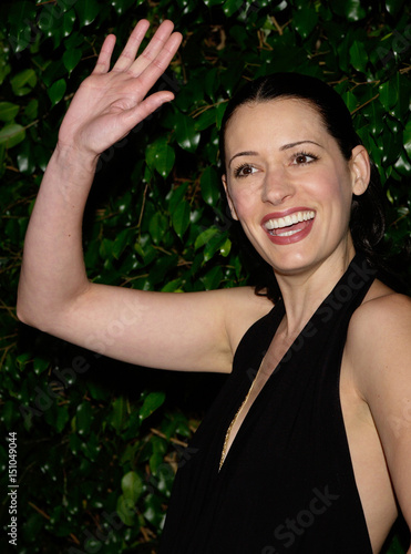 Actress Paget Brewster Arrives For The 57th Writers Guild Awards In Los Angeles