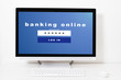 banking online at your desktop screen