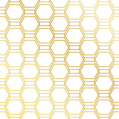 FototapetaGolden seamless pattern background