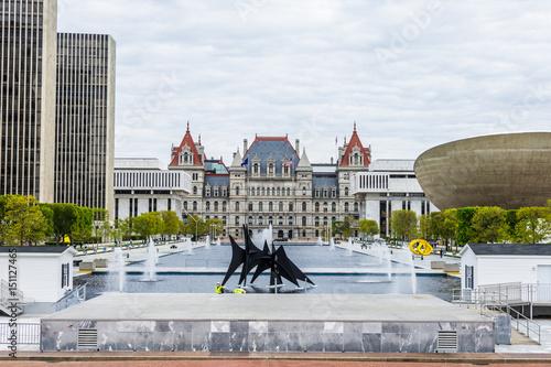 Fotografie, Tablou  Capitol building in albany new york