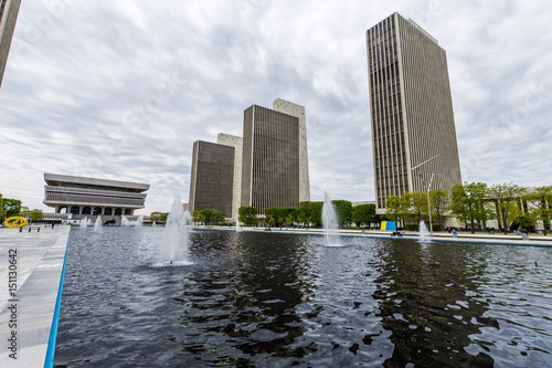 Valokuva  Government Buildings in Capitol Hill in Albany, New York