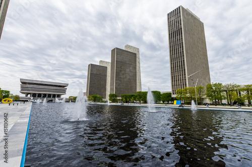 Fotografie, Obraz  Government Buildings in Capitol Hill in Albany, New York