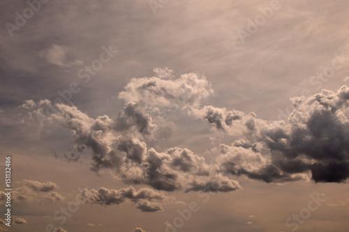 Fotografie, Obraz  altocumulus clouds