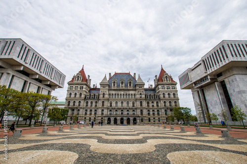 New York Capitol Building in Upstate Albany, New York Tablou Canvas