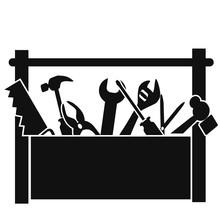 Black Tools Box