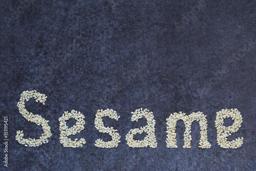 The word sesame