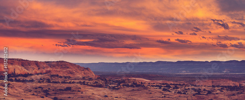 Poster Corail Utah landscapes