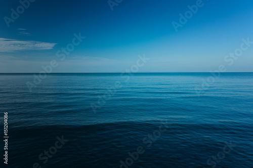 Poster Zee / Oceaan The vast ocean, Dark, Deep and Blue sea