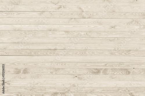 Fototapeta White wooden planks wall. Natural wood texture background. obraz na płótnie
