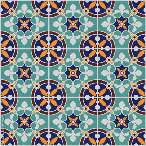 Obrazy wieloczęściowe marokański stary wzór