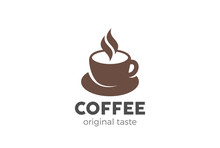 Coffee Cup Logo Design Vector ...