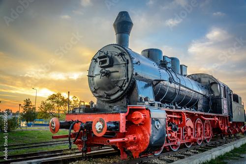 Fotomural  Old Locomotive